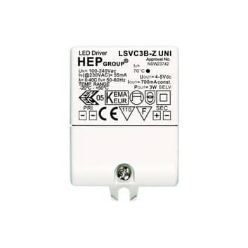 LED-driver 700 mA 3 W konstant strømstyrke