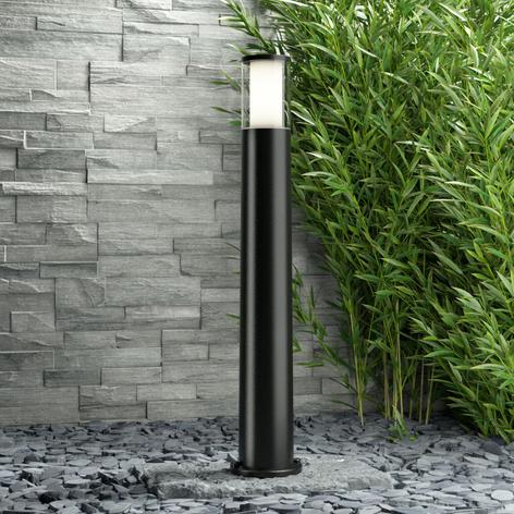 Černé LED svítidlo pro osvětlení cest Carlo