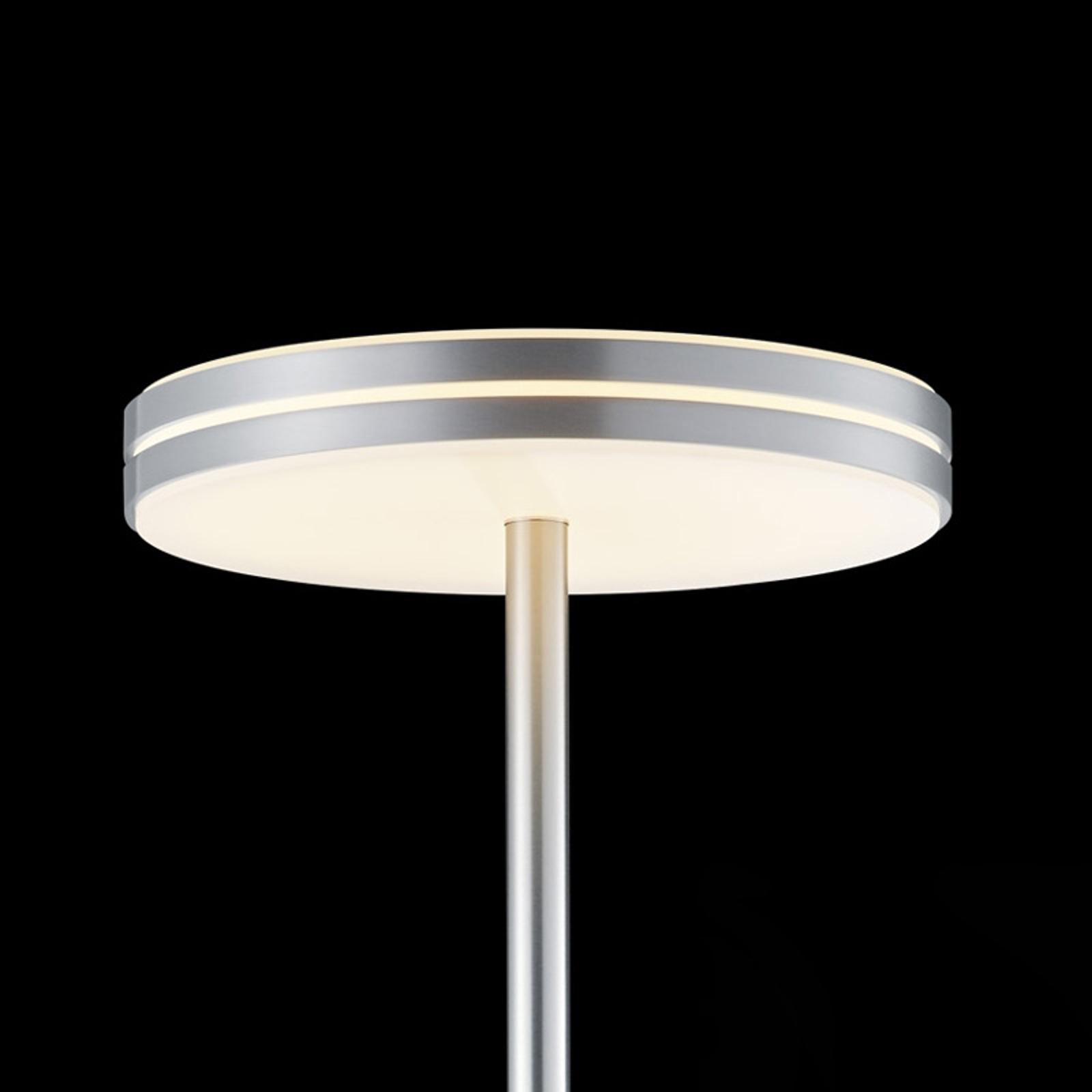 BANKAMP Gem lampada LED da terra con touchdimmer