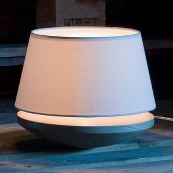 Kjell - Tafellamp met linnen kap, crème