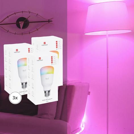 Yeelight Smart ampoule LED color RGBW lot de 3