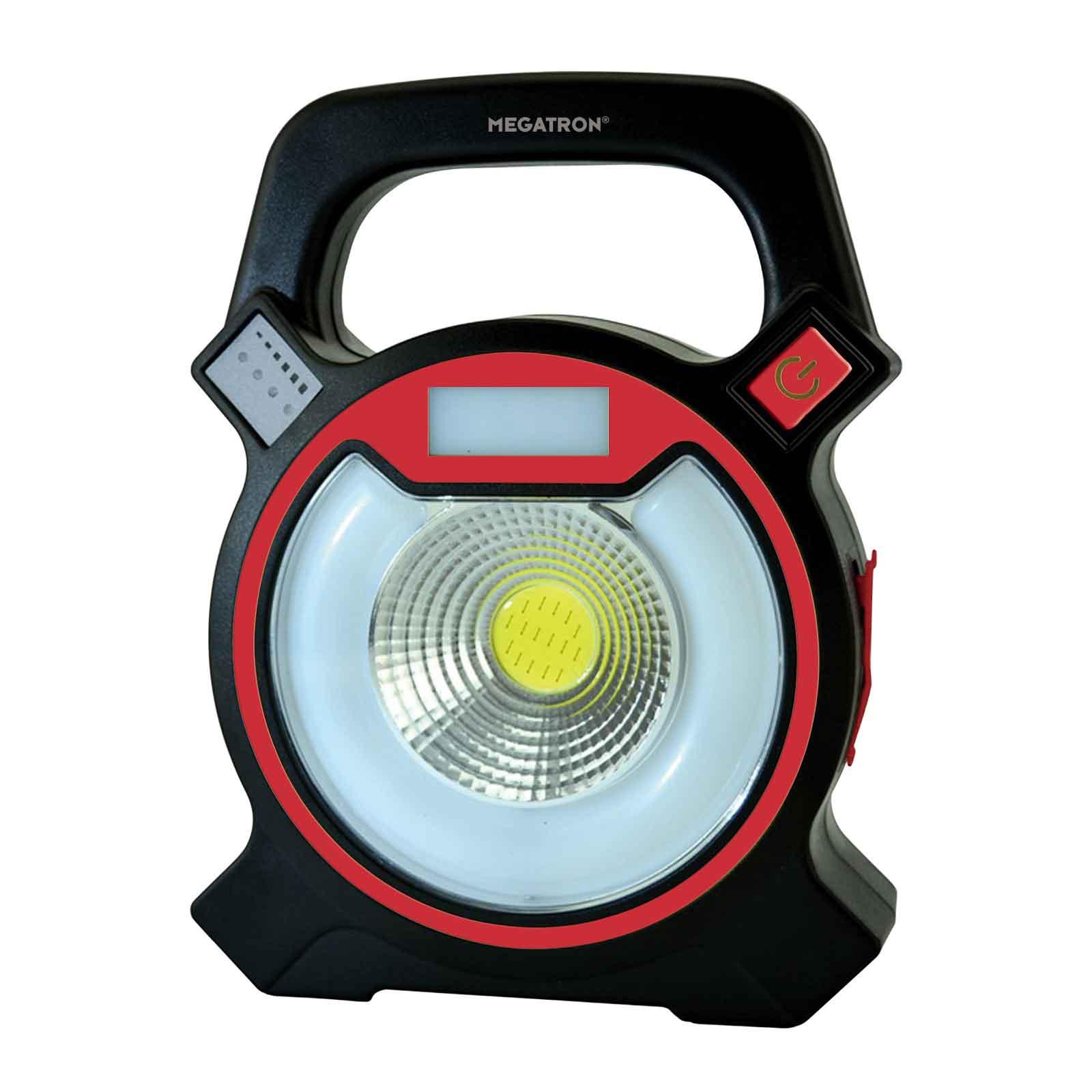 LED-Strahler Helfa S mit Akku, 2 x 3 W