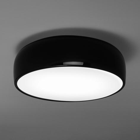 FLOS Smithfield C Deckenlampe schwarz glänzend E27