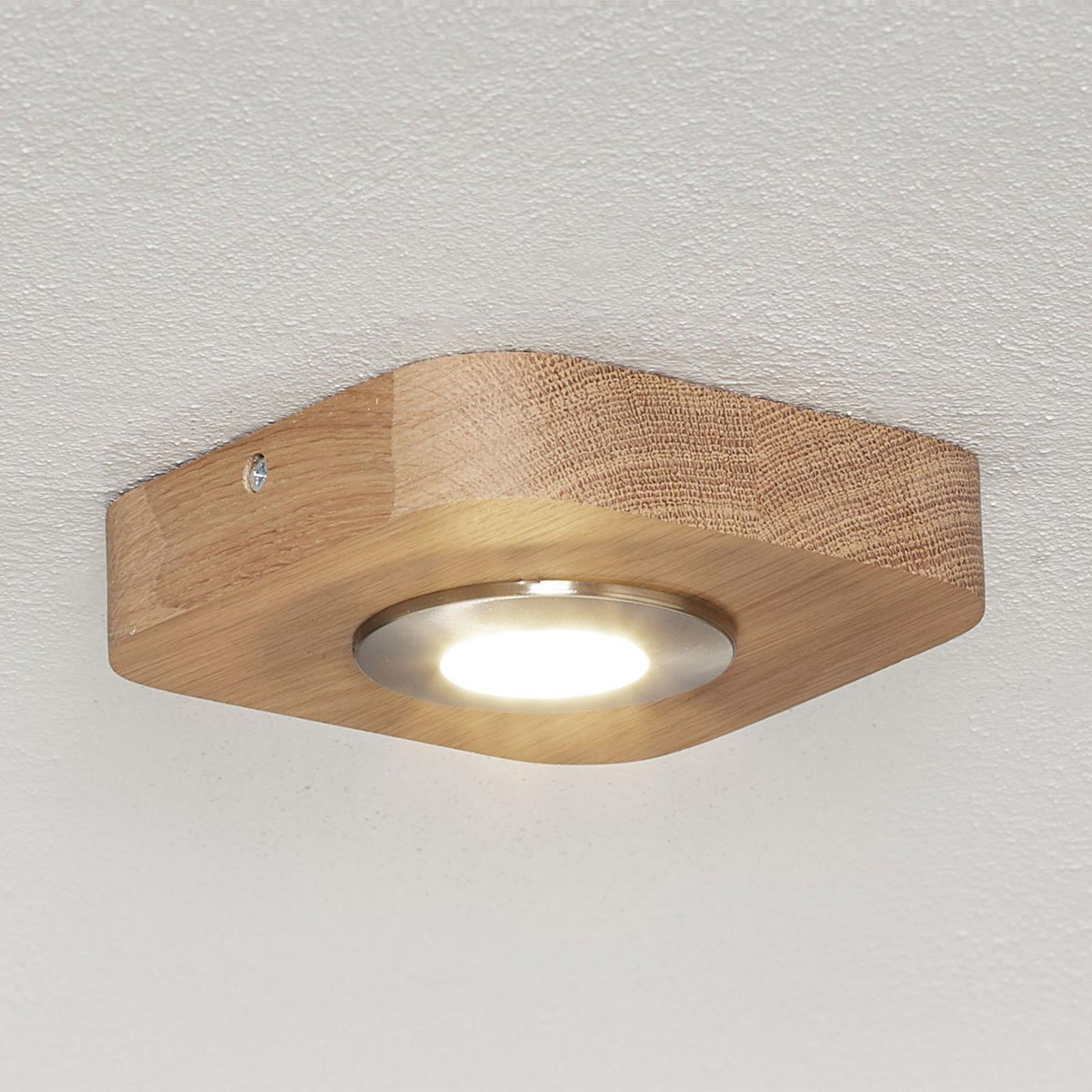 Varmvitt lysande LED-taklampa Sunniva