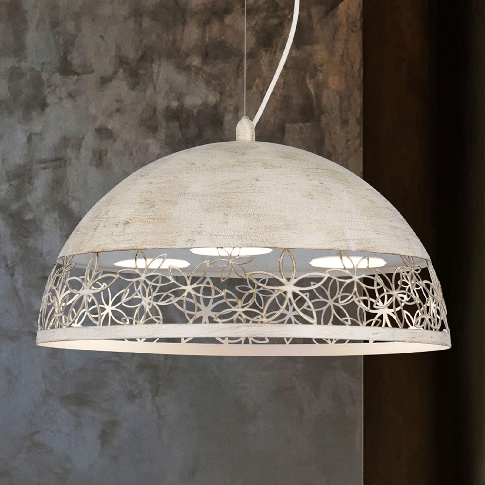 Lampa wisząca 4522/GX40, tundra biała, Ø 40 cm