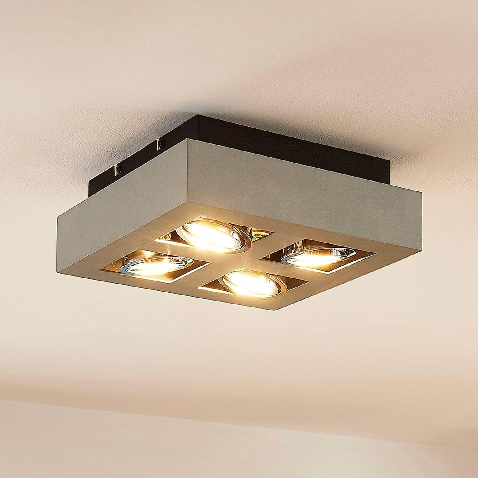 Faretto GU10 Vince con lampadine LED