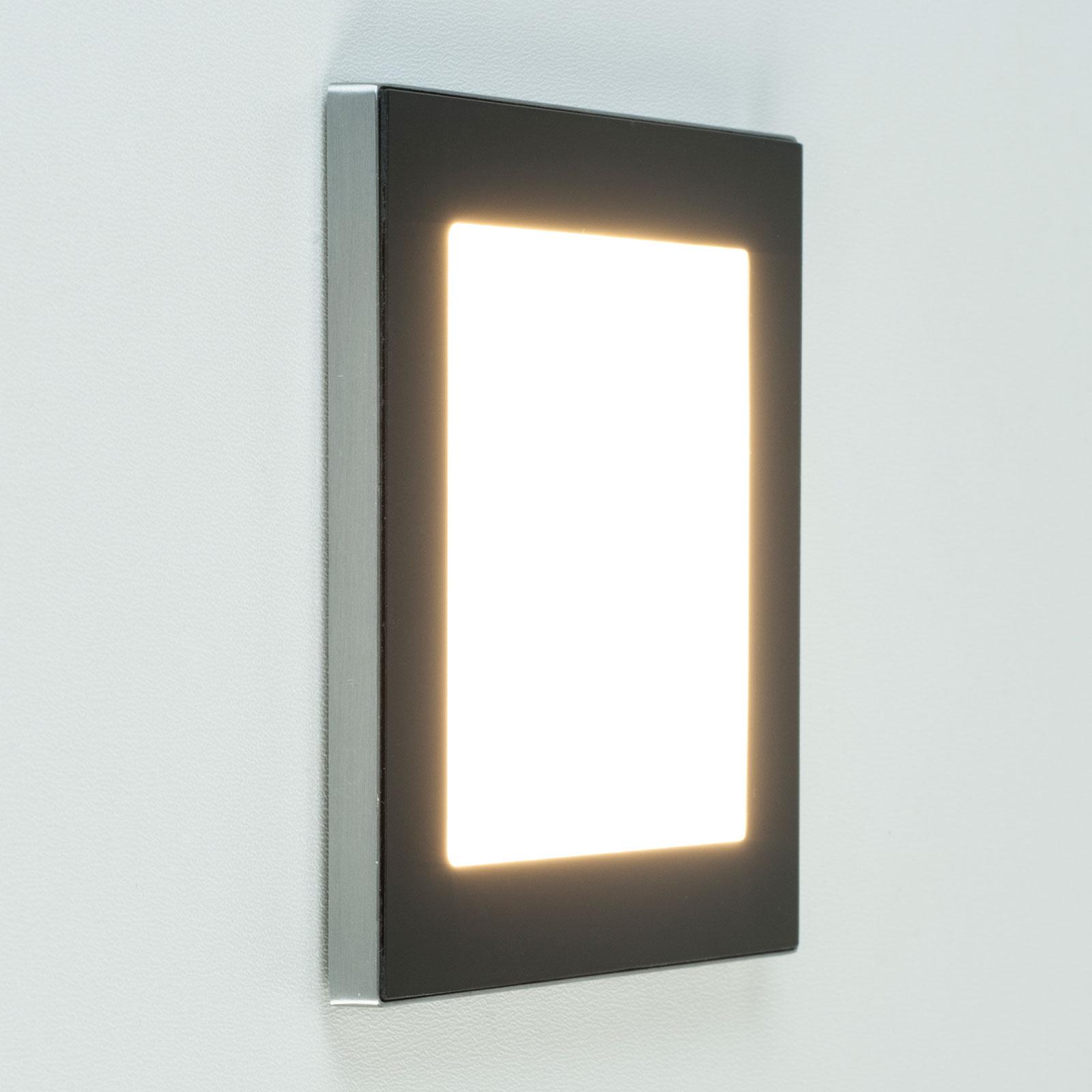 BRUMBERG 10035 LED-Wandeinbauleuchte schwarz
