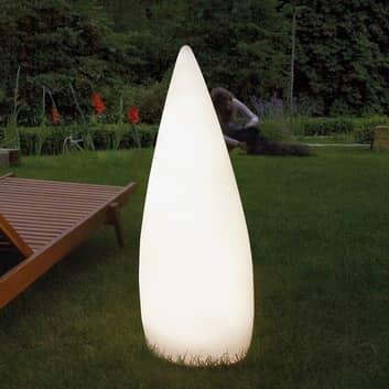 Lámpara decorativa LED exterior Kanpazar B móvil