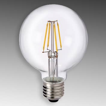 E27 6W 827 LED globe G80 helder