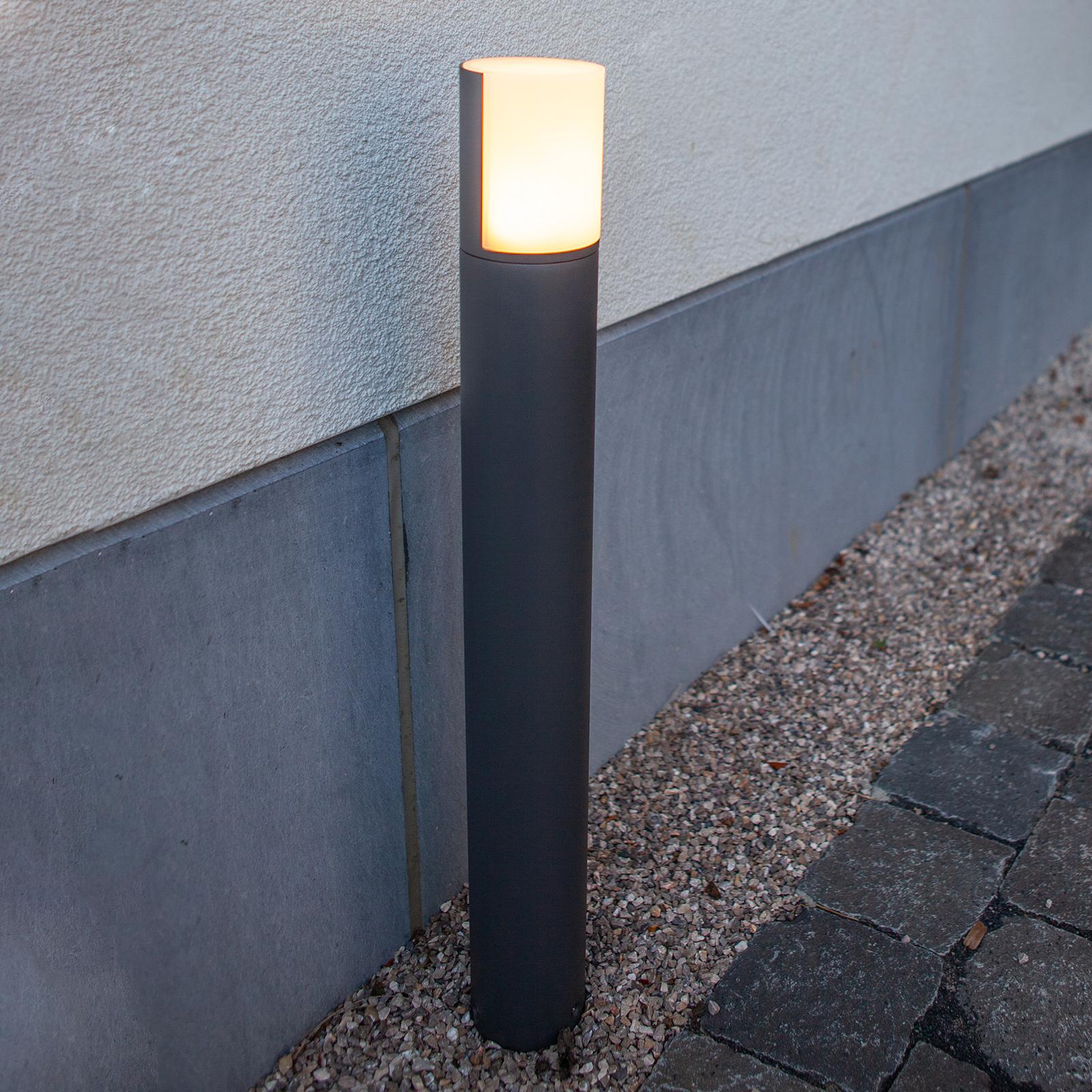 LED-Wegeleuchte Cyra, Leuchtenkopf drehbar
