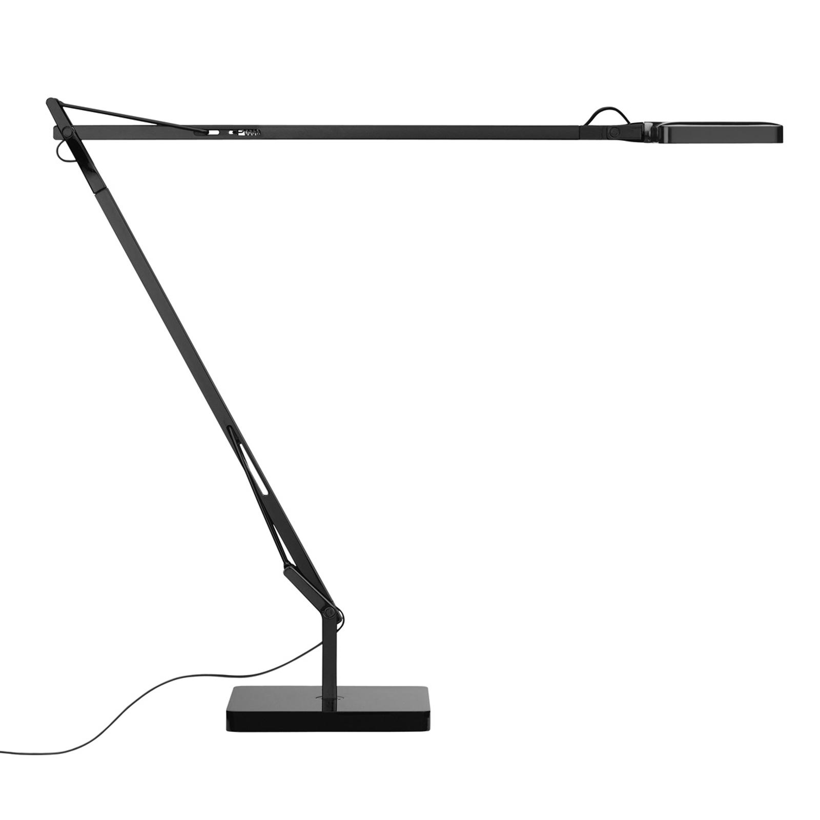 Lampe à poser LED KELVIN noire