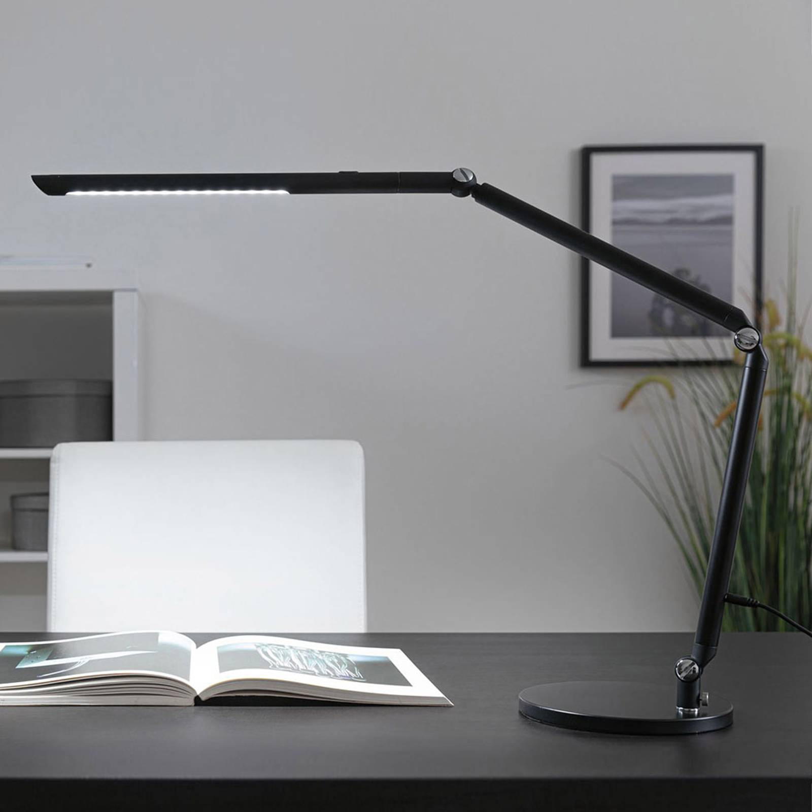 Paulmann FlexBar lampe de bureau LED noire