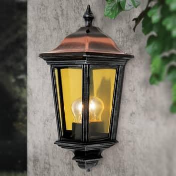 Venkovní nástěnné světlo Antoine poloskořepina