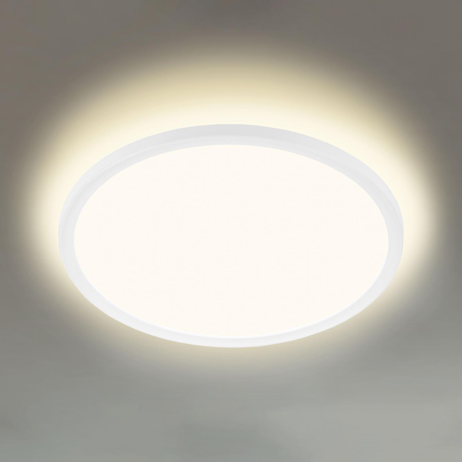 LED-taklampe 7155/7157, rund, 29,3 cm