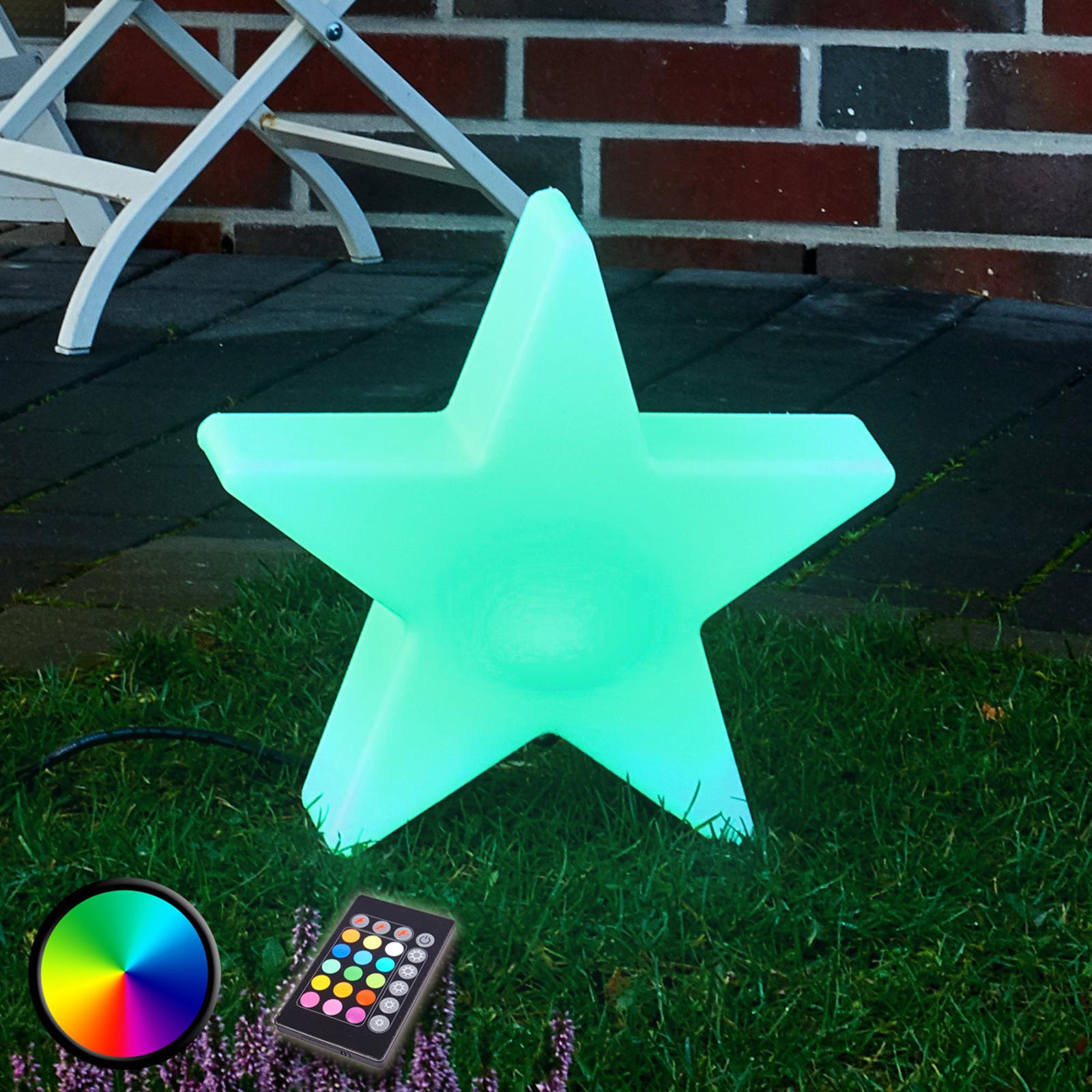 Shining Star 100 LED-buitendecoratielamp RGB 1