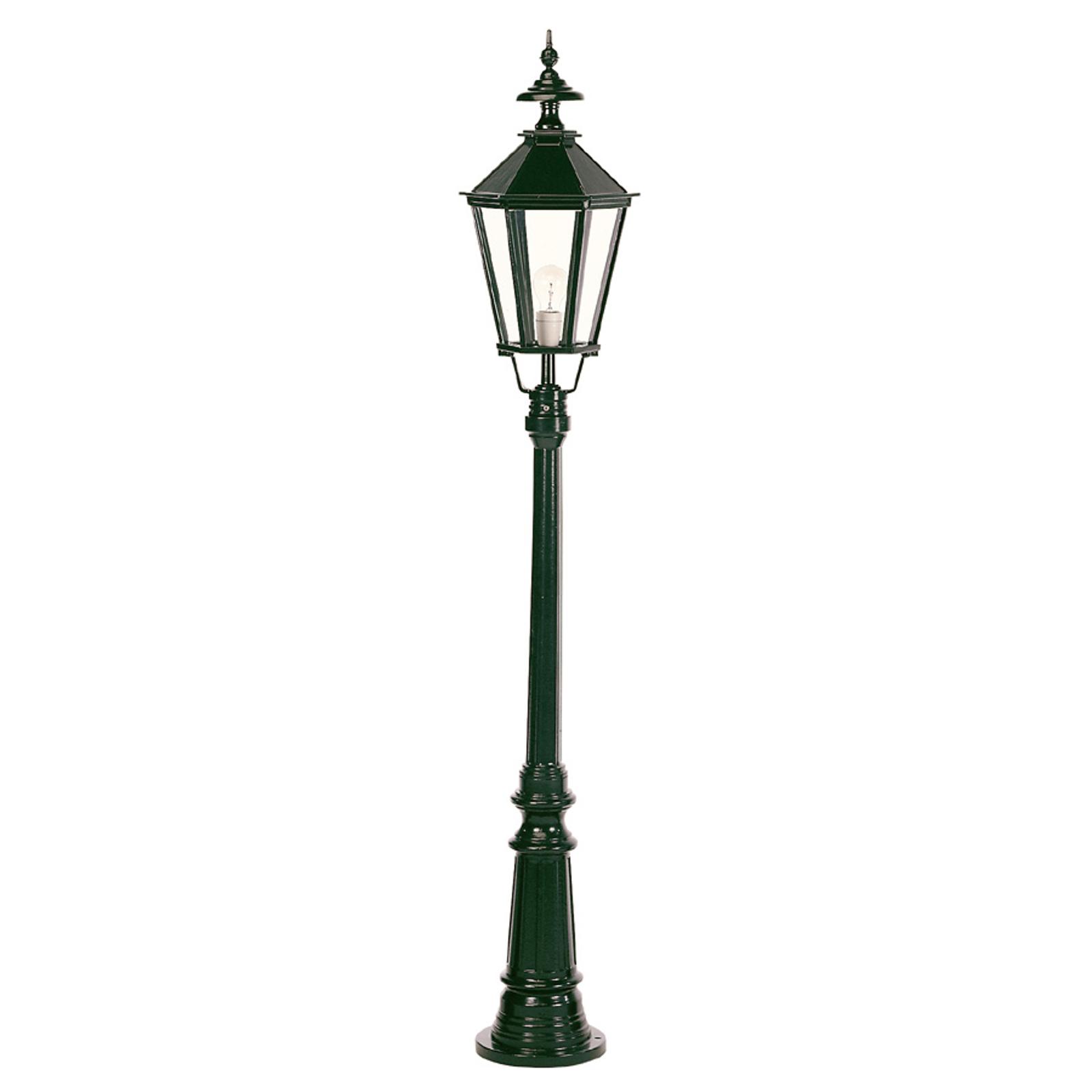 Piękna latarnia ogrodowa Dublin 1-punktowa, czarna
