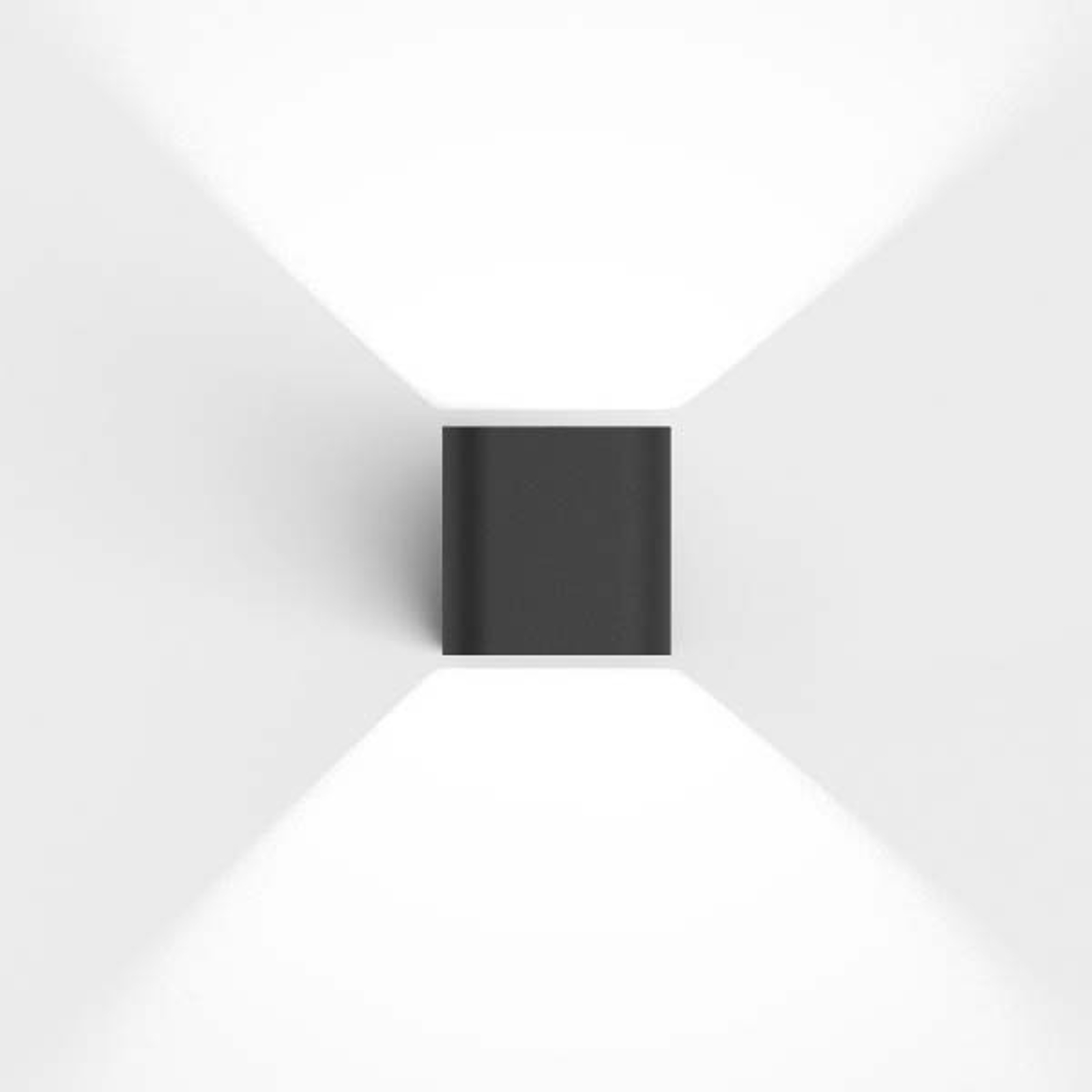 IP44.de Intro 2.0 LED buitenwandlamp, antraciet