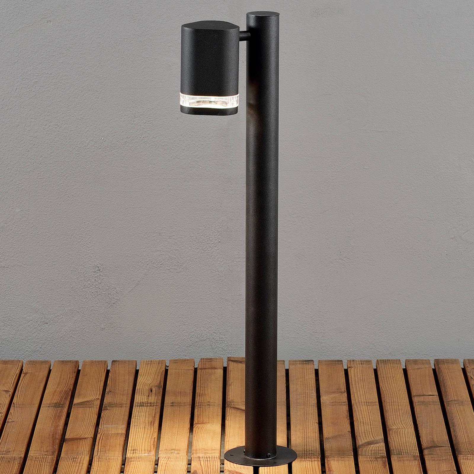 Słupek oświetleniowy LED Modena czarny
