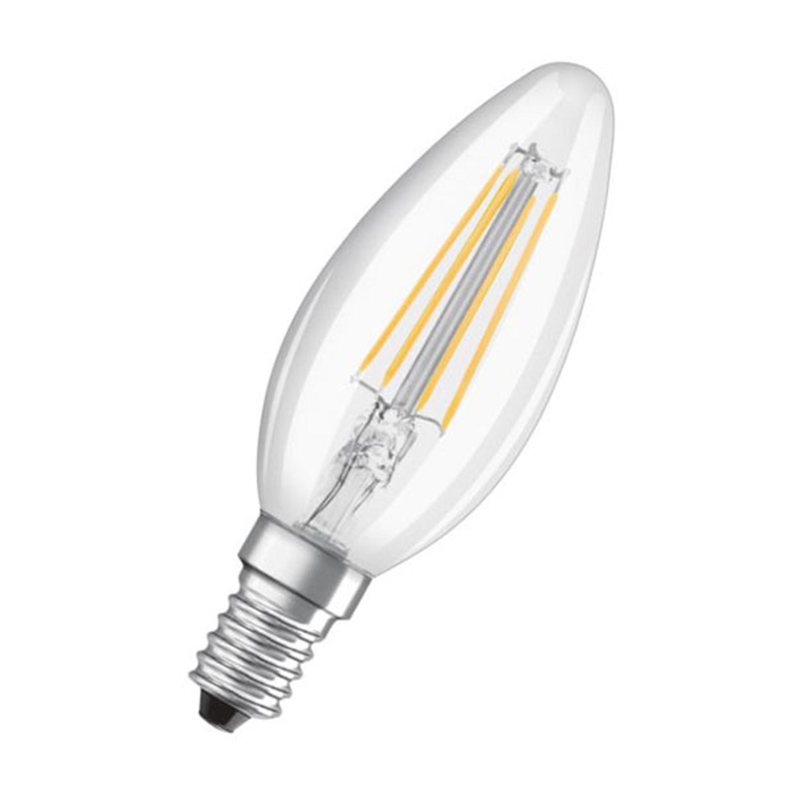 OSRAM żarówka świeca LED E14 5W 827 ściemniana