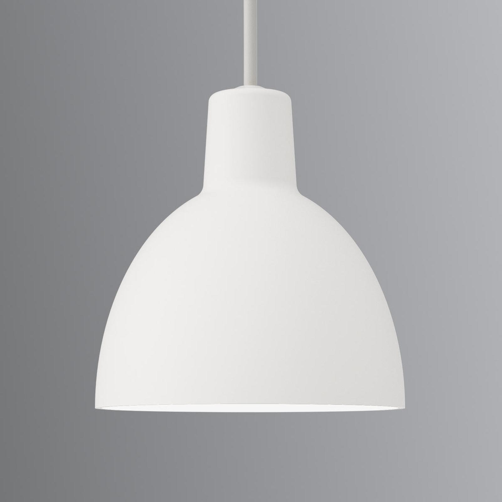 Minimalistische hanglamp Toldbod 120, wit