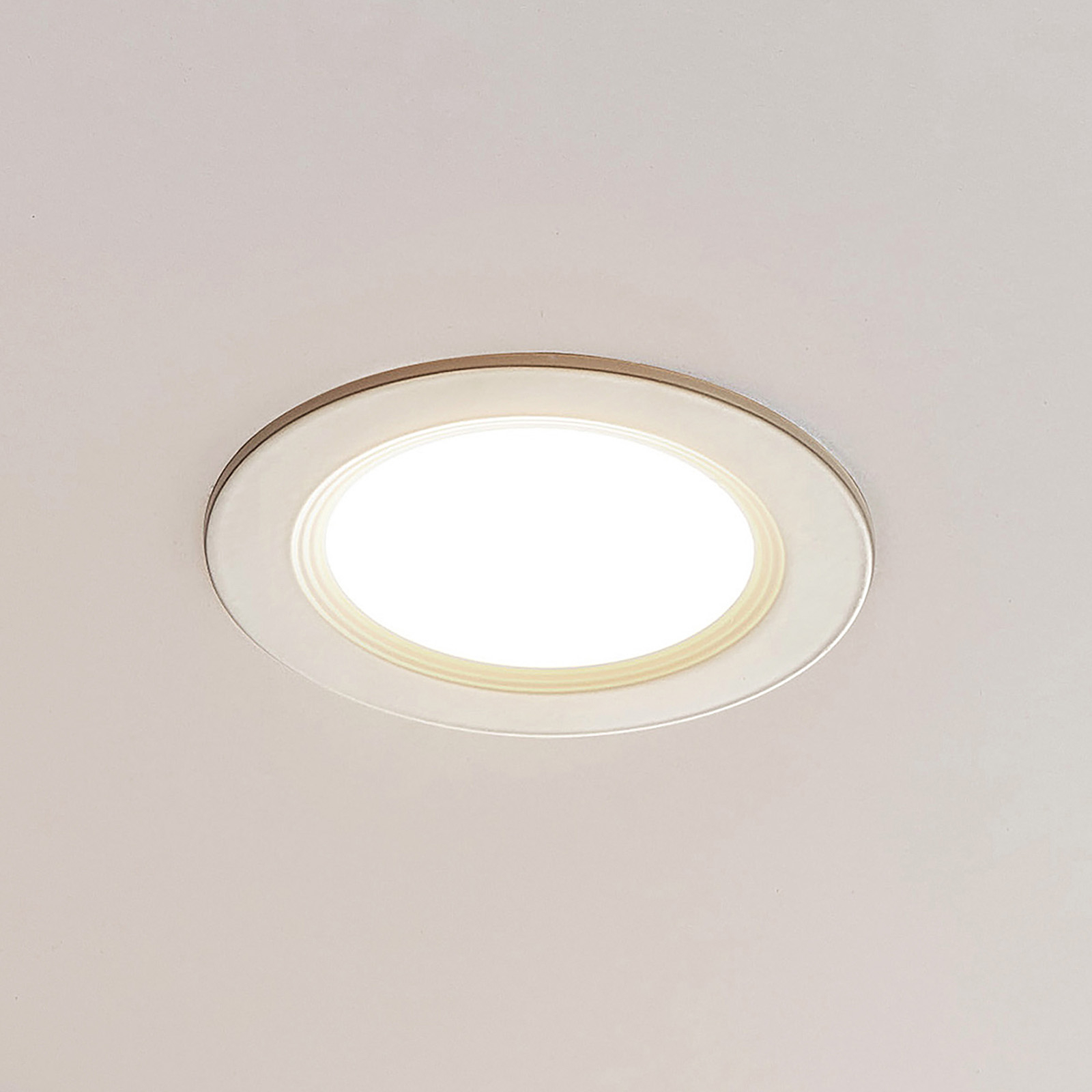 ELC Pan LED-Einbaupanel rund, 3.000 K Ø17,2cm