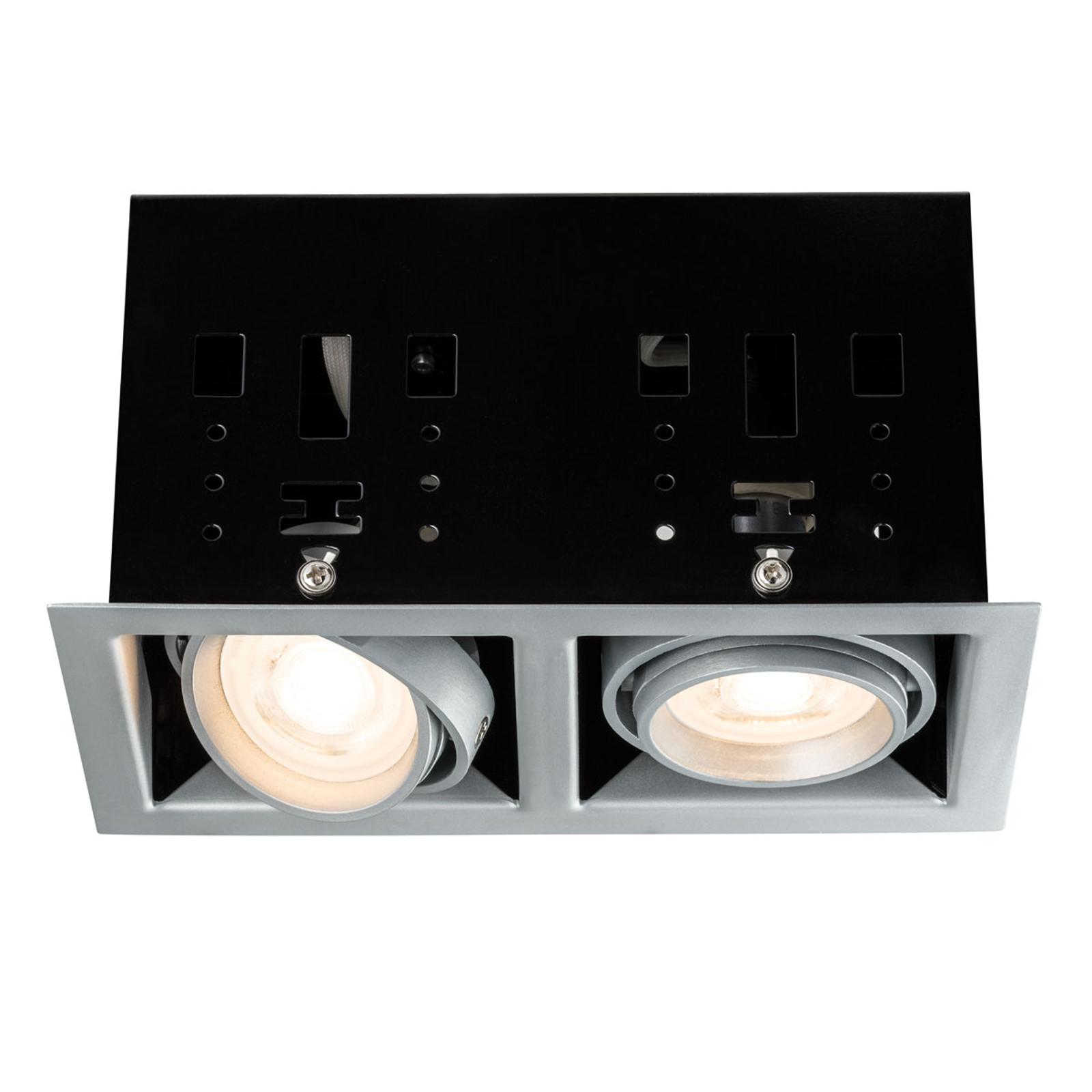 Lampada LED da incasso Cardano, a 2 luci