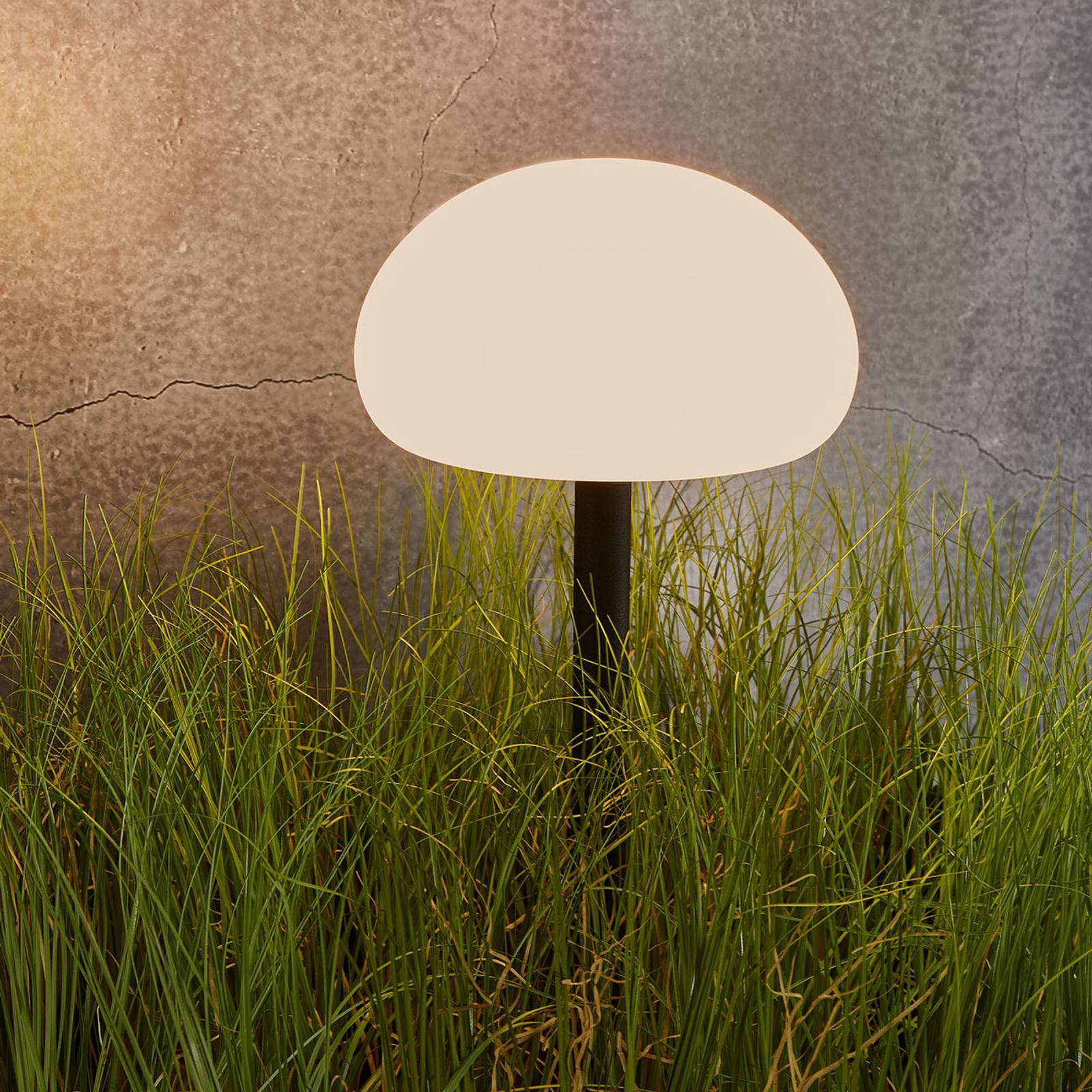 LED grondspies lamp Sponge Spike, met accuvoeding