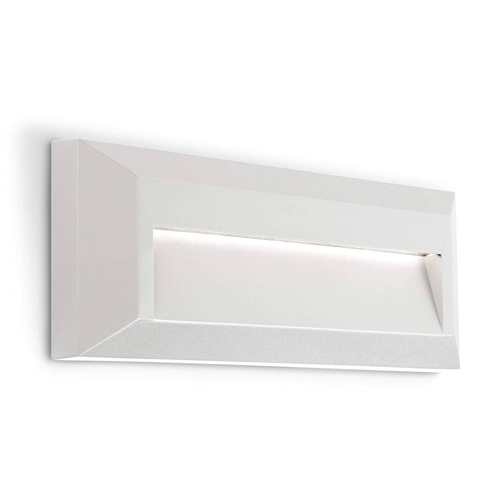 Applique LED da esterni Kössel a fascio largo