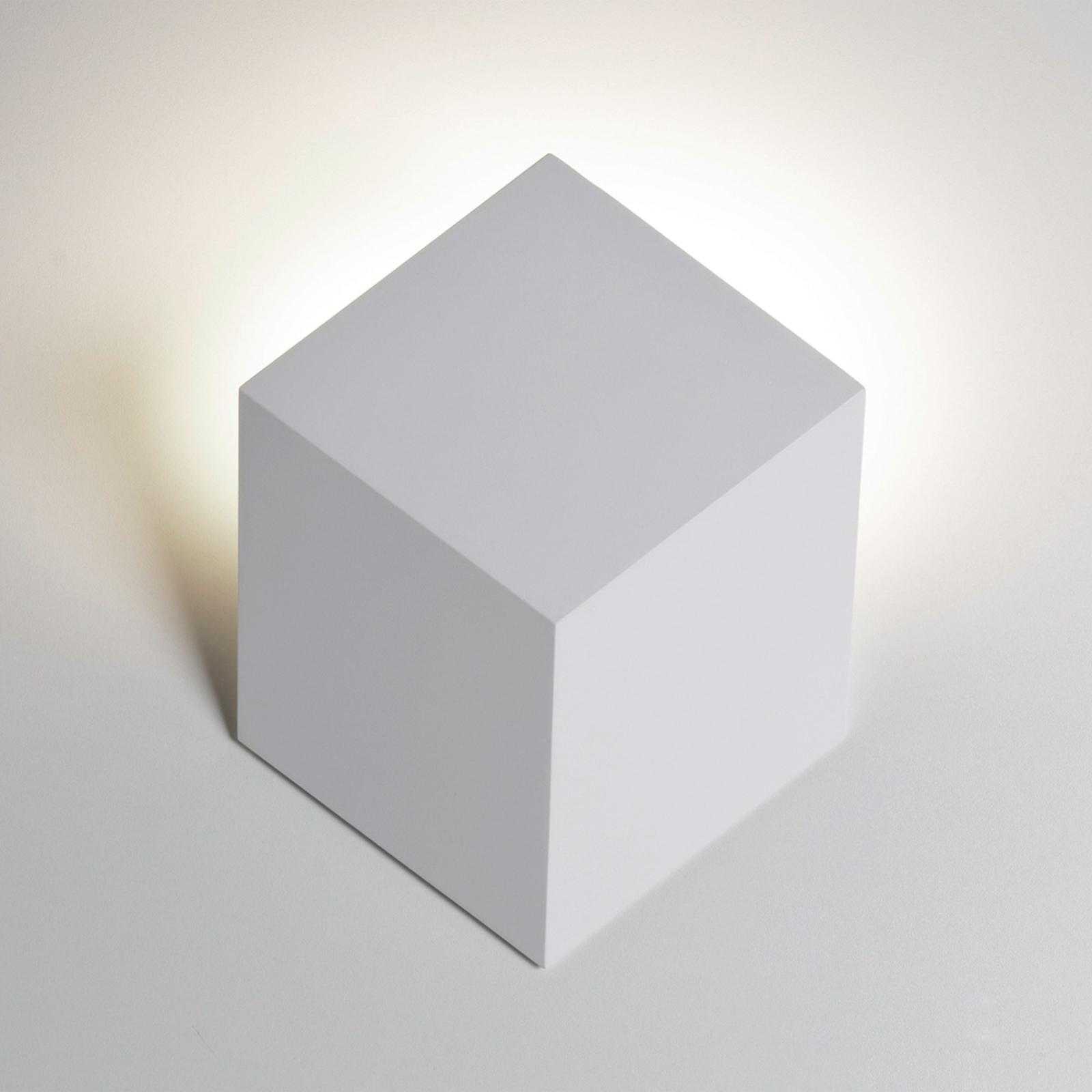 Rotaliana QB LED-Wandleuchte in Würfelform