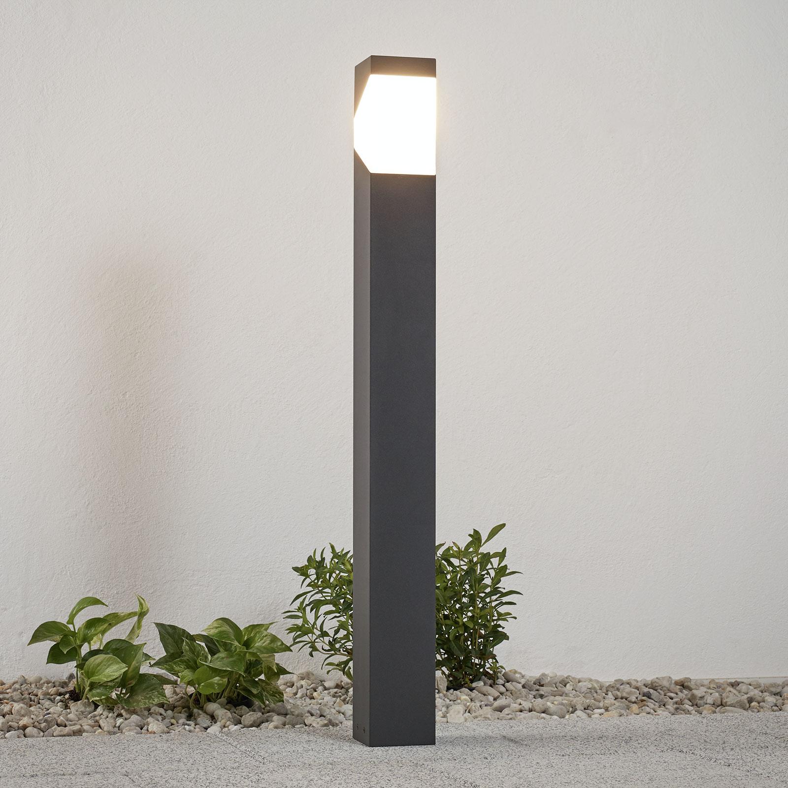 Bolardo luminoso Kiran de aluminio