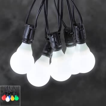 24V-systeem lichtketting voor tuincafé LED E10