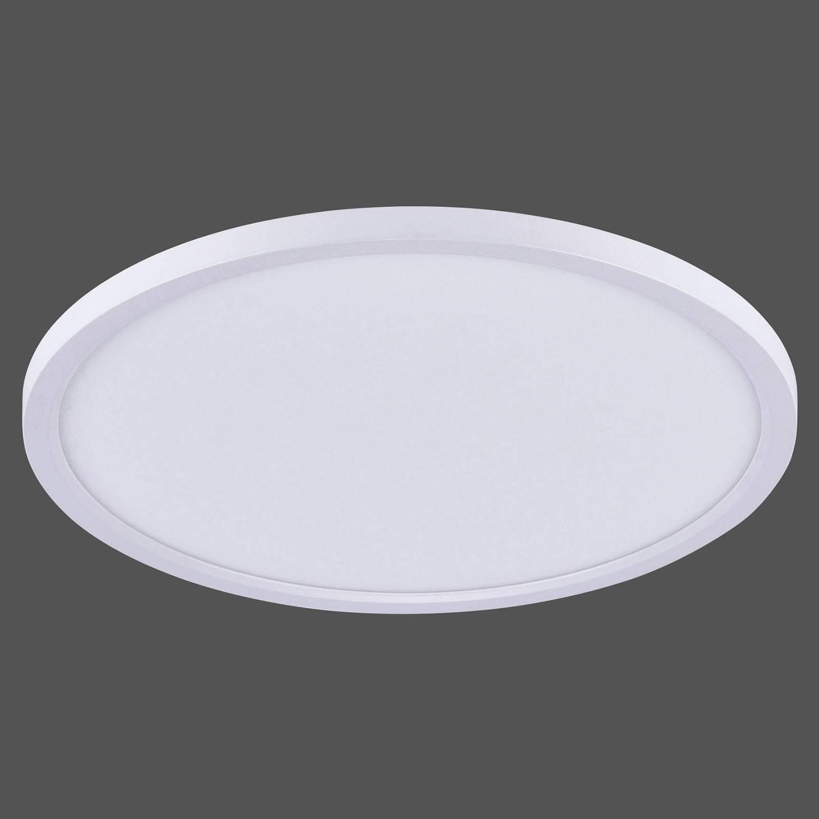 Lampa sufitowa LED Flat CCT, Ø 40 cm, biała