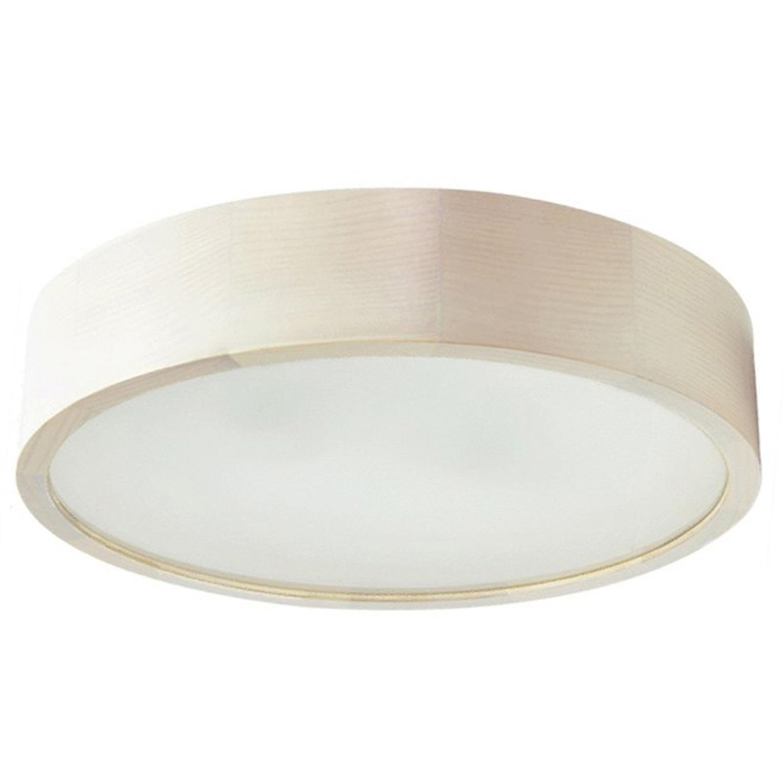 Plafonnier LED Cleo, Ø 28cm, blanc