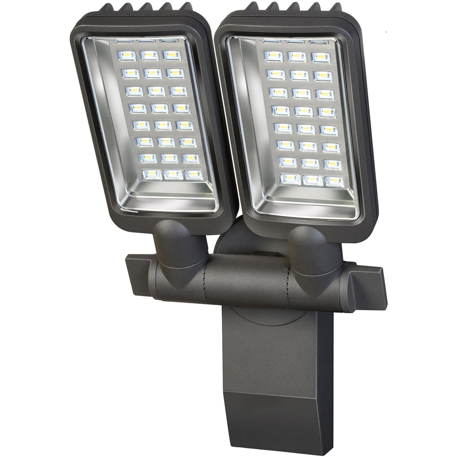 Brennenstuhl City LED buitenspot 2-lamps.