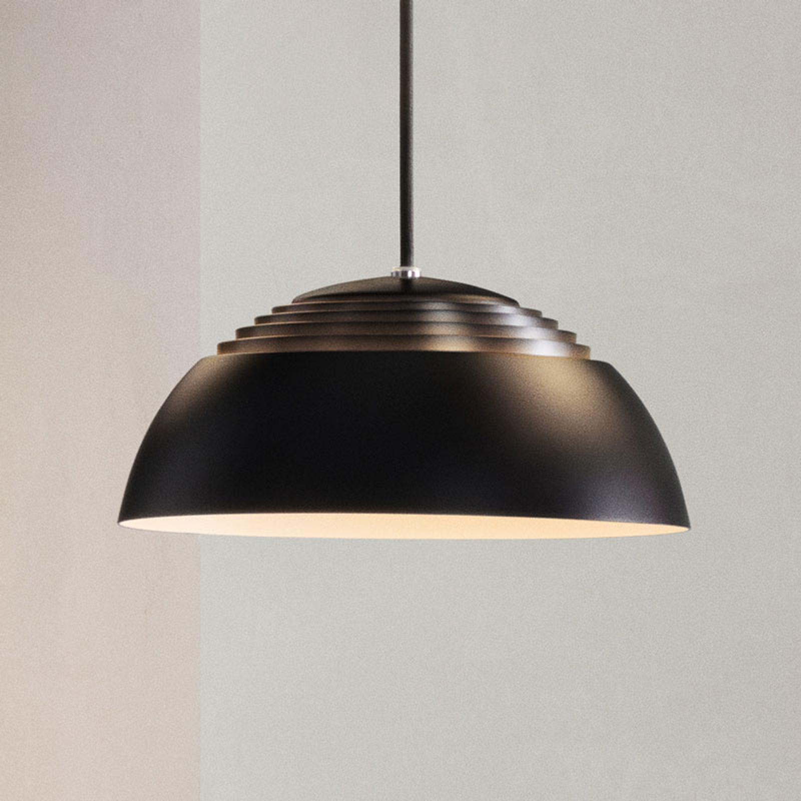 Louis Poulsen AJ Royal LED-Hängelampe 25cm schwarz