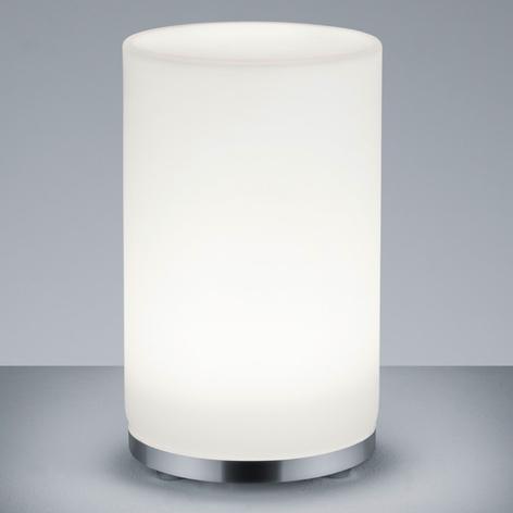 Válcová RGBW stolní lampa LED John s DO