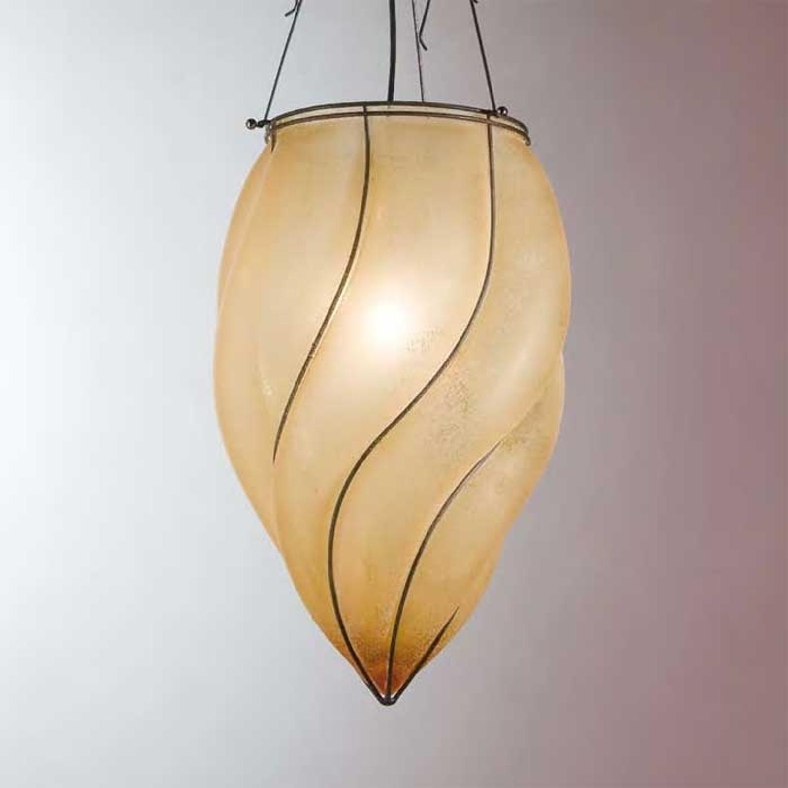 Czarująca lampa wisząca POZZO 49 cm