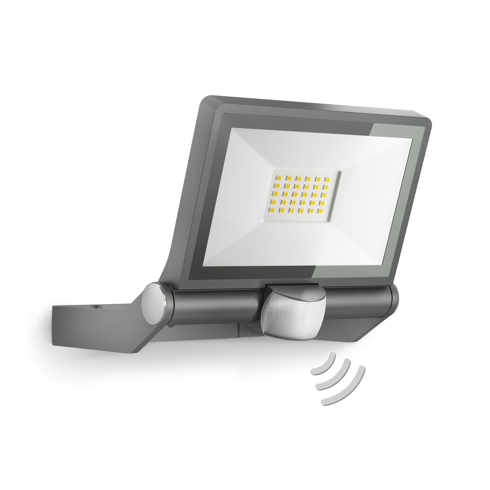 STEINEL XLED One sensor spot, antrasitt, 20x23x19