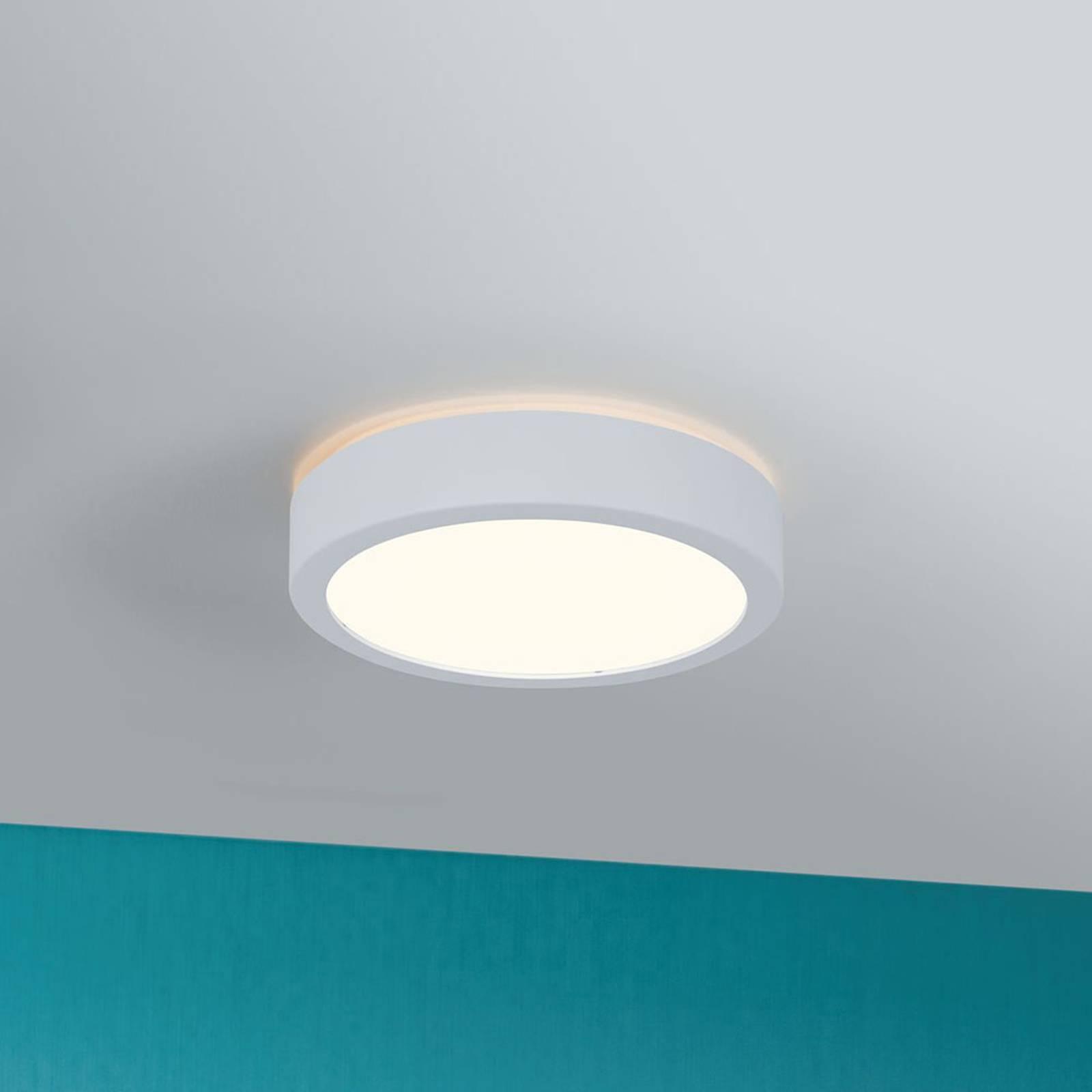 Paulmann Aviar plafonnier LED Ø 22cm blanc 3000K