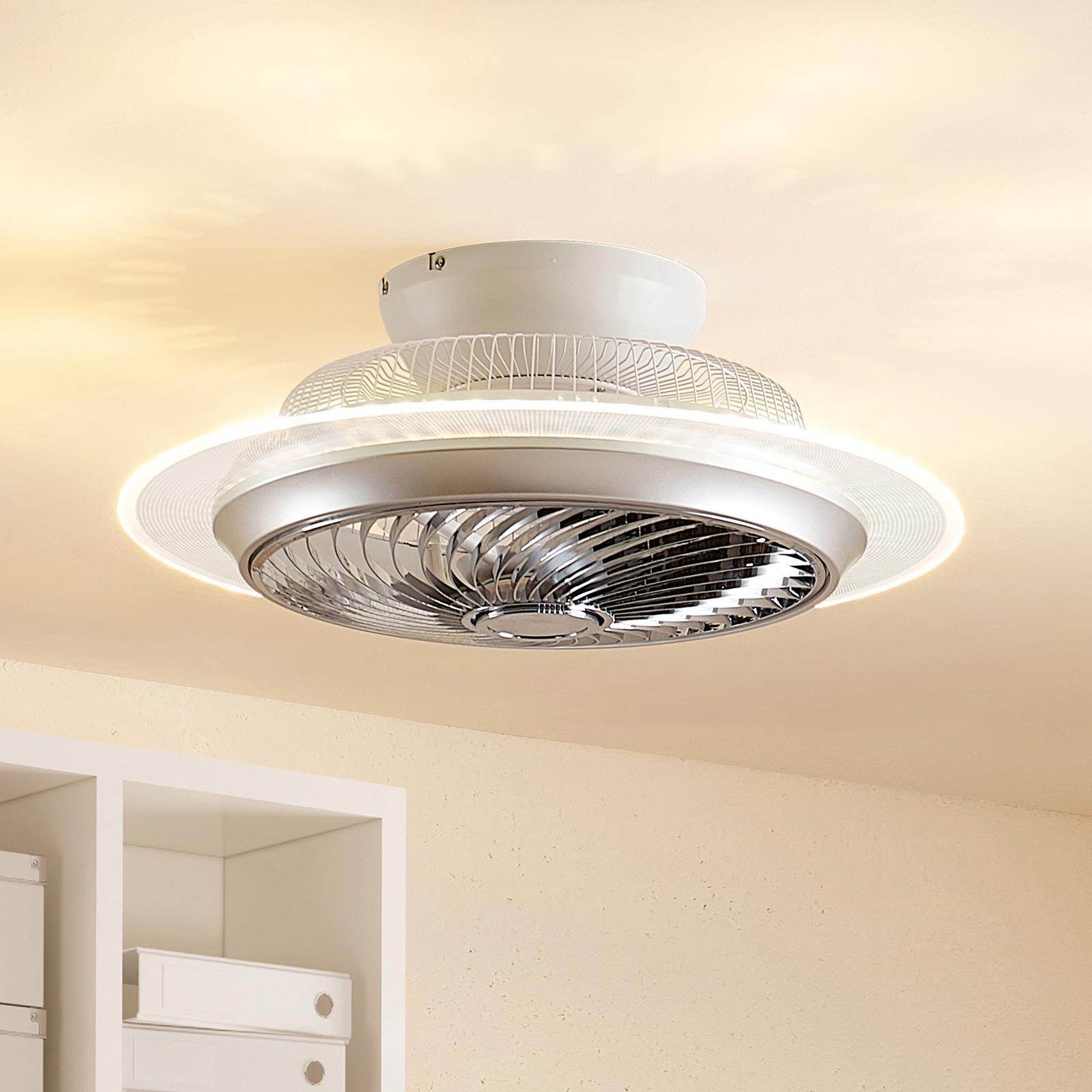 Lindby Yolina LED plafondventilator met licht
