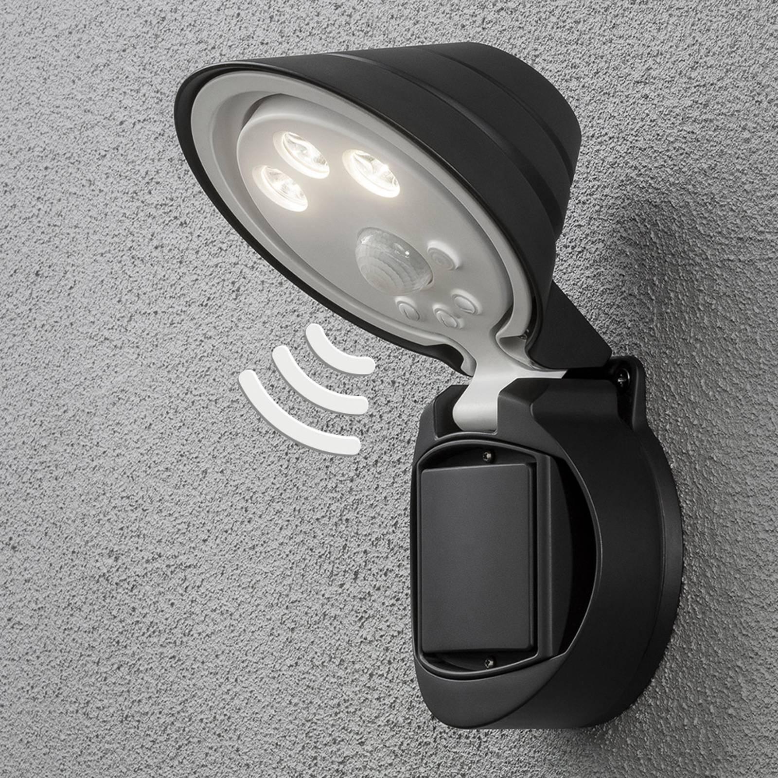 LED buitenwandlamp Prato, 16 cm