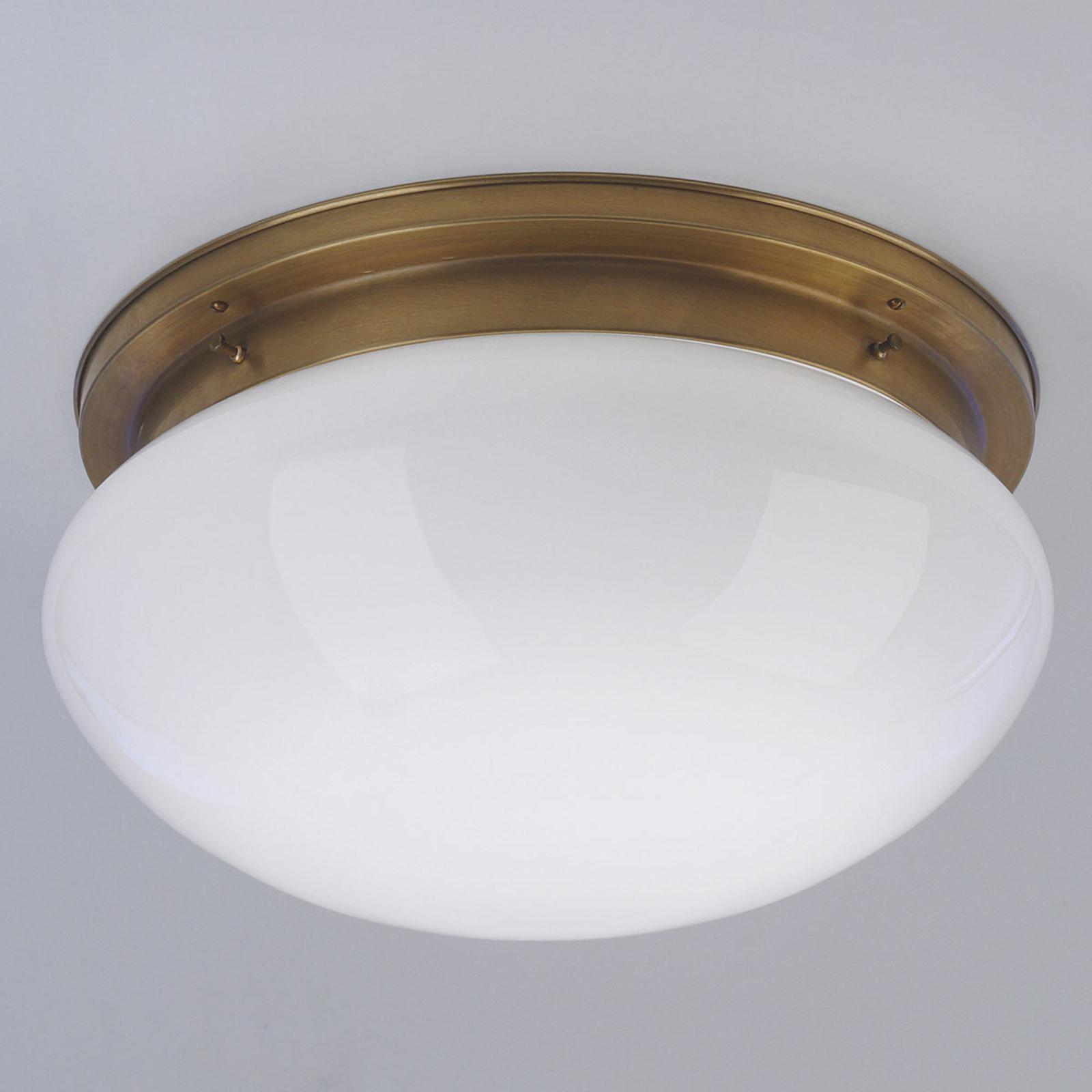 Duża lampa sufitowa Harry z mosiądzu Ø 40cm