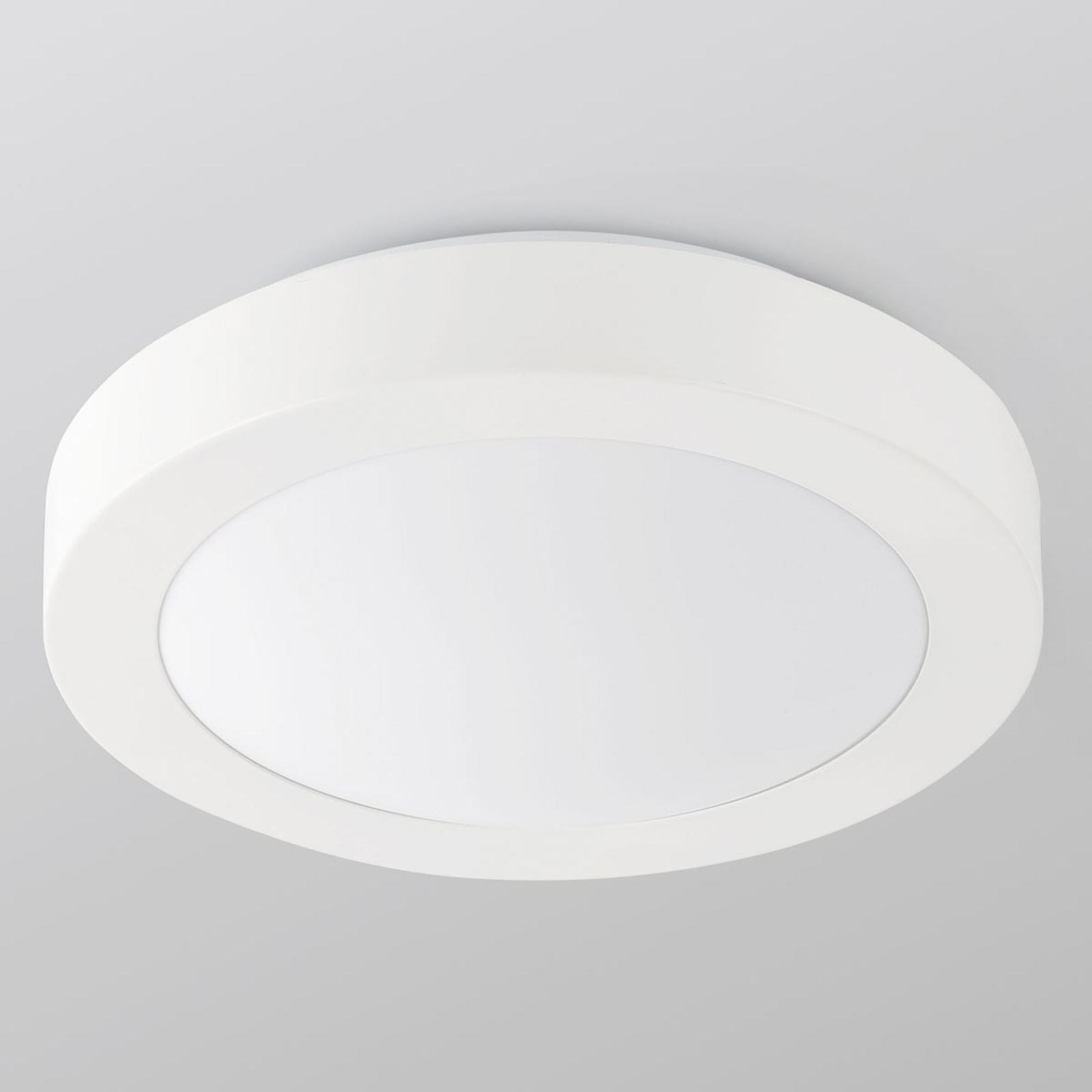 Logos – okrągła łazienkowa lampa sufitowa Ø 35cm