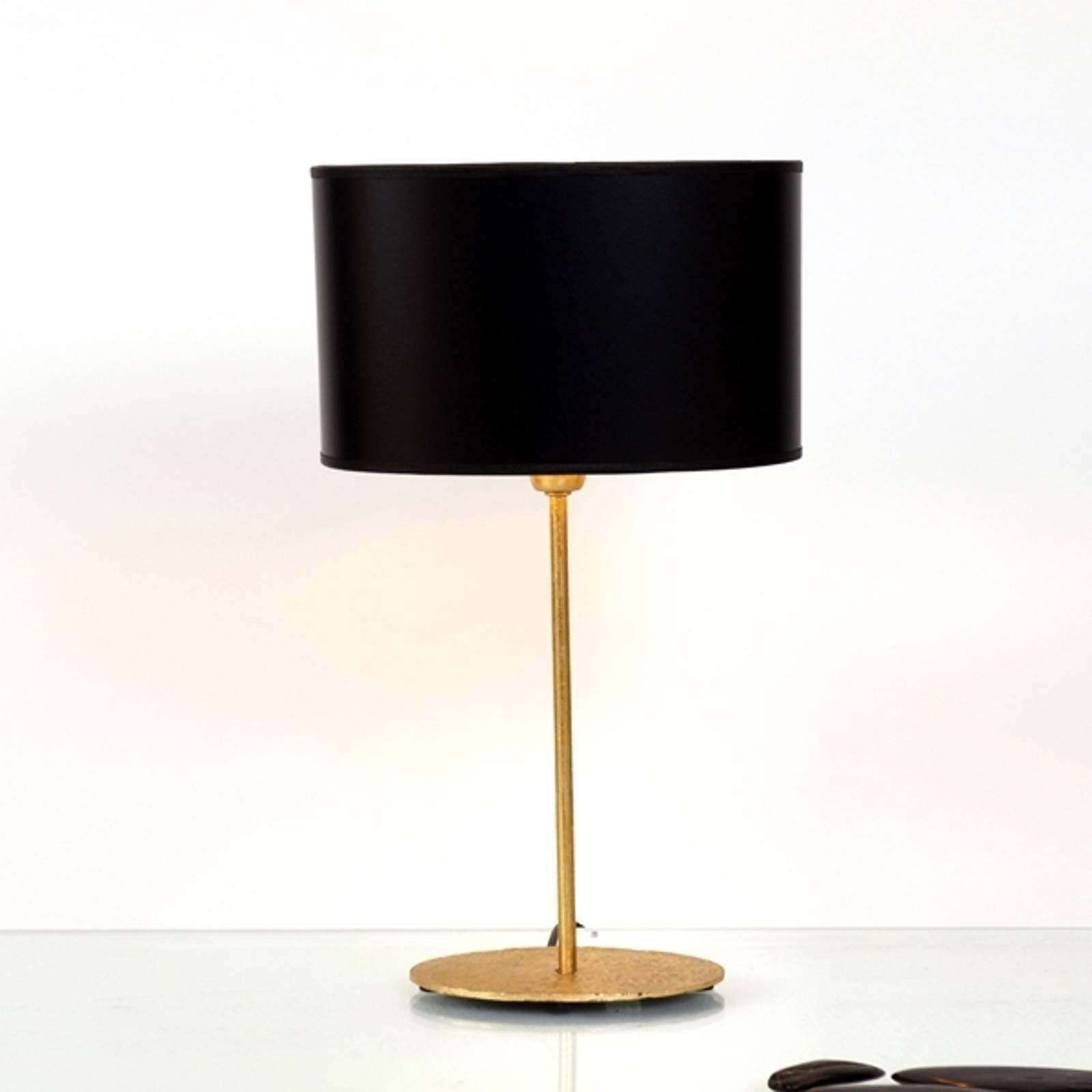 Mooie tafellamp Mattia met ovale kap
