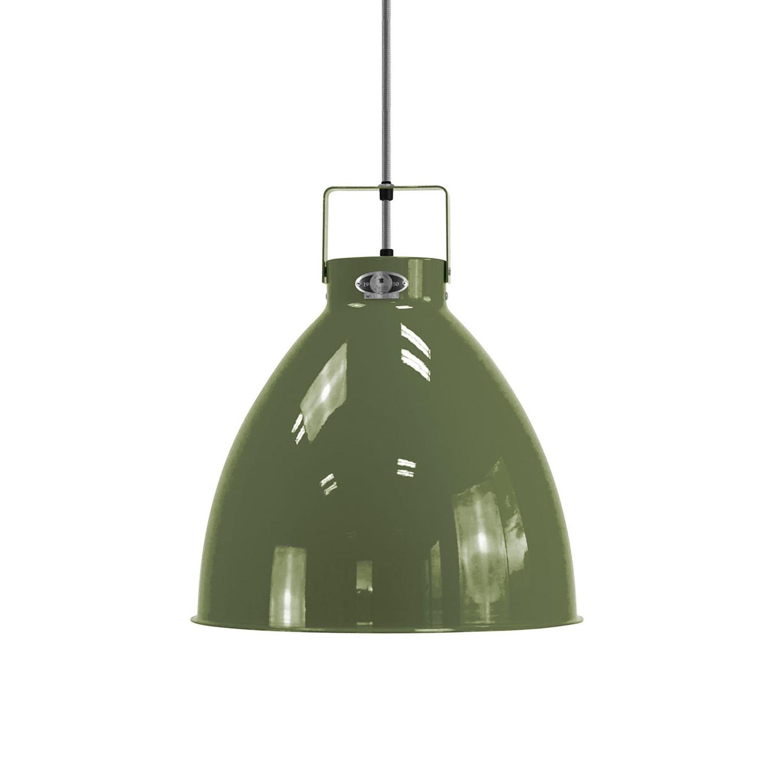 Jieldé Augustin A360 lampa wisząca oliwkowa