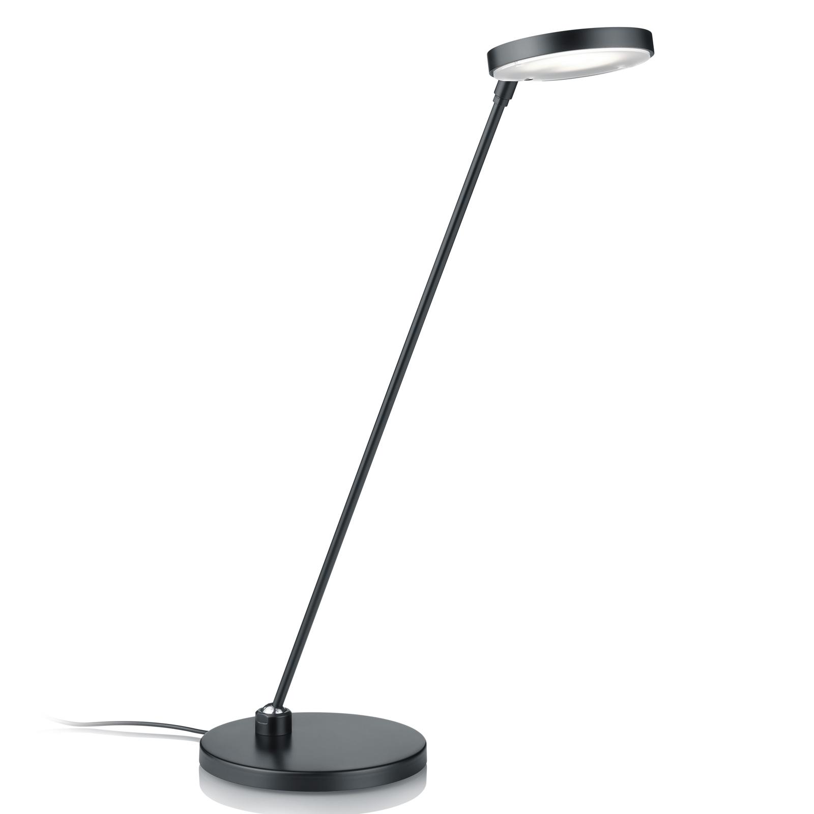 Lampe à poser LED Thea-T, noire