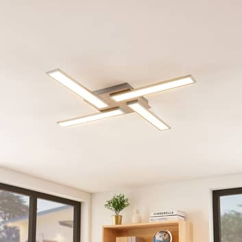 Lindby Smart Ibbe LED plafondlamp, 4-lamps
