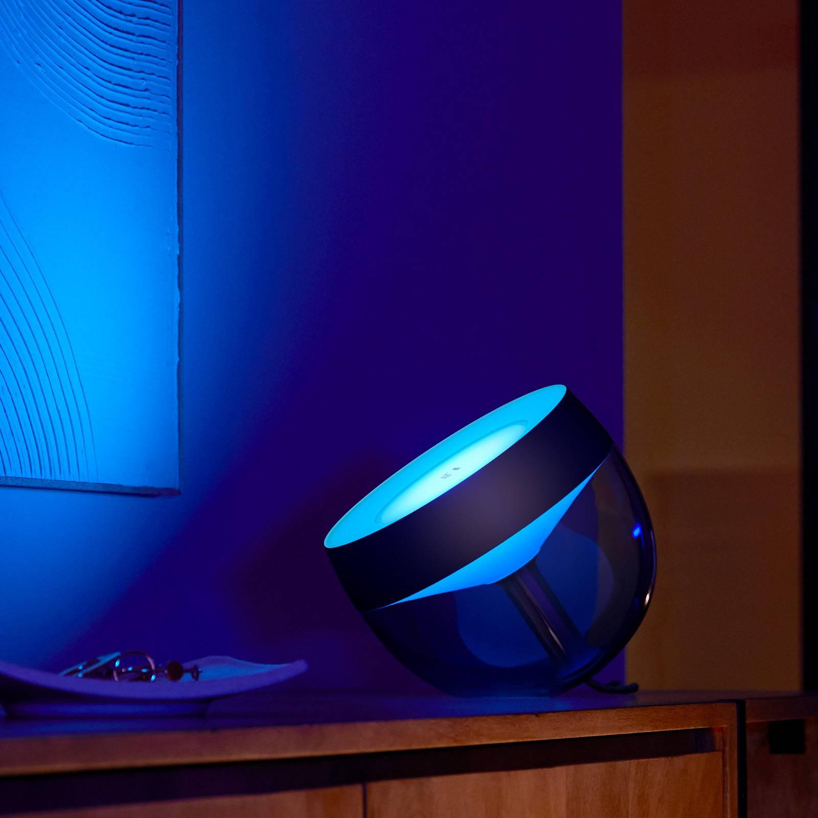 Philips Hue Iris WACA LED tafellamp, zwart