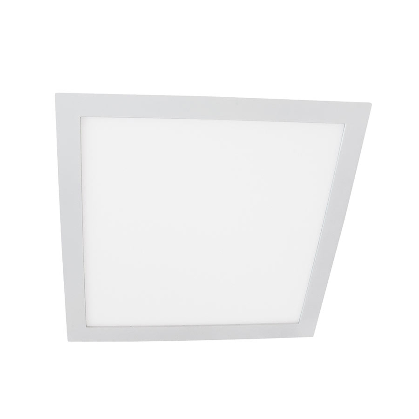 LED-Einbaulampe Moon Square 12W, 4.000K