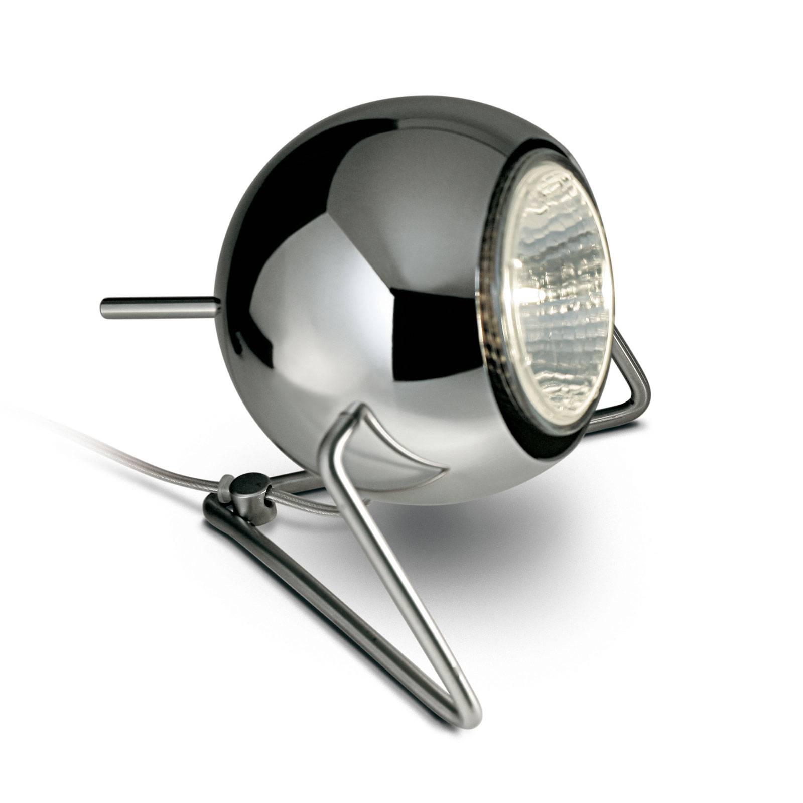 Fabbian Beluga Steel lampe à poser chromée, Ø 9cm